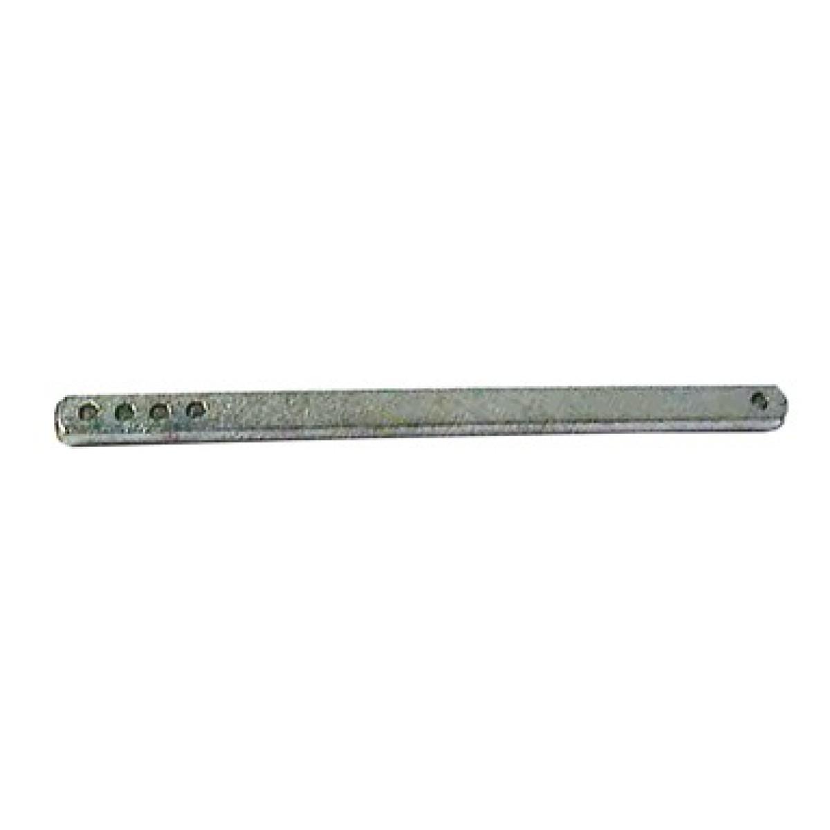 Carré seul aluminium poli Dubois industries - Carré 6 x 120 mm