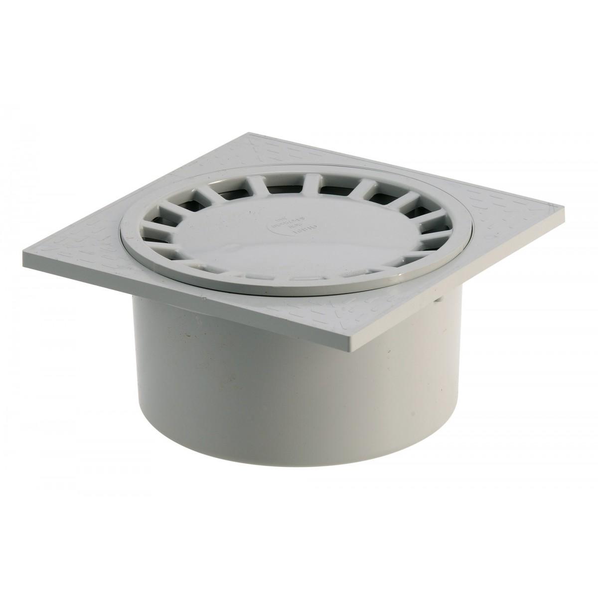 Siphon 150 x 150 mm Girpi - Gris