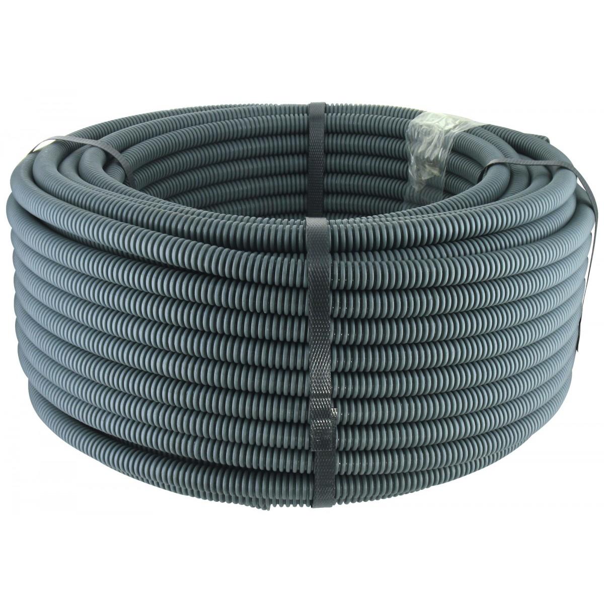 Gaine icta avec tire fil diam tre 25 mm bleu longueur - Diametre fil electrique ...