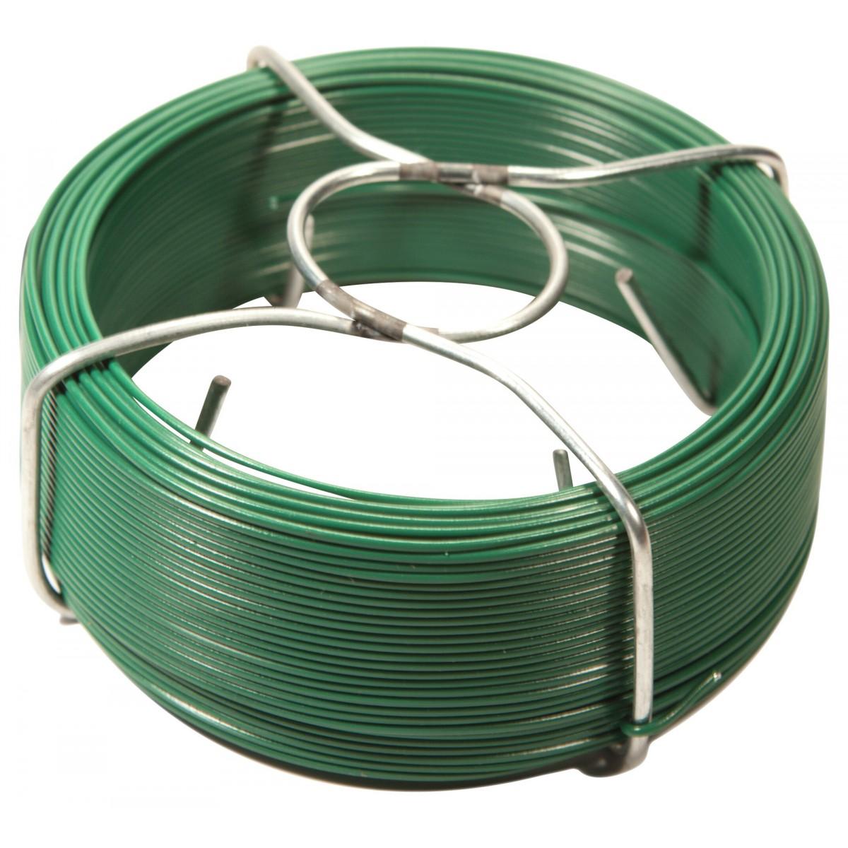 Bobinot plastifié Filiac - Vert - Longueur 100 m