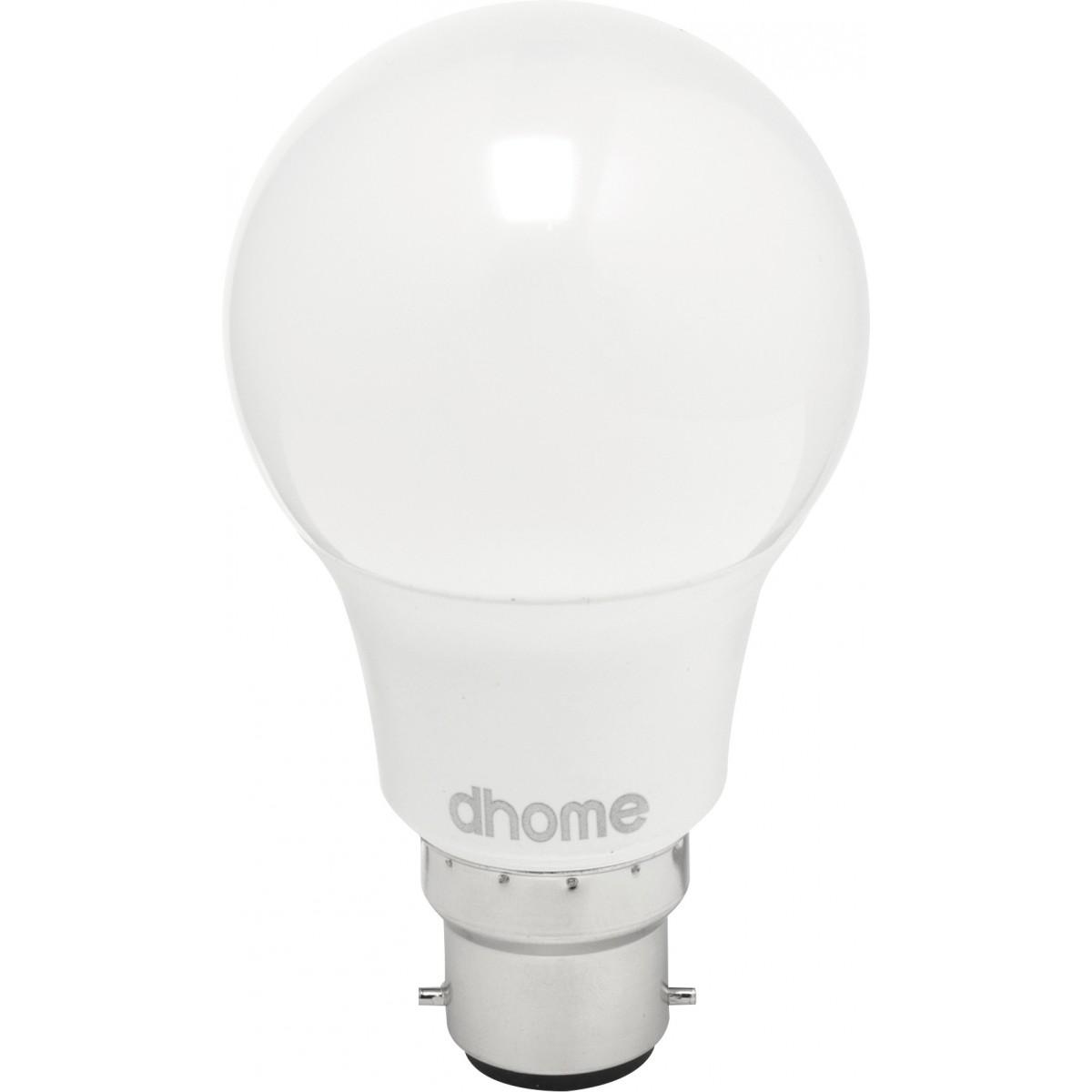 Ampoule LED standard B22 dhome - 806 Lumens - 8,5 W - 2700 K - Vendu par 10