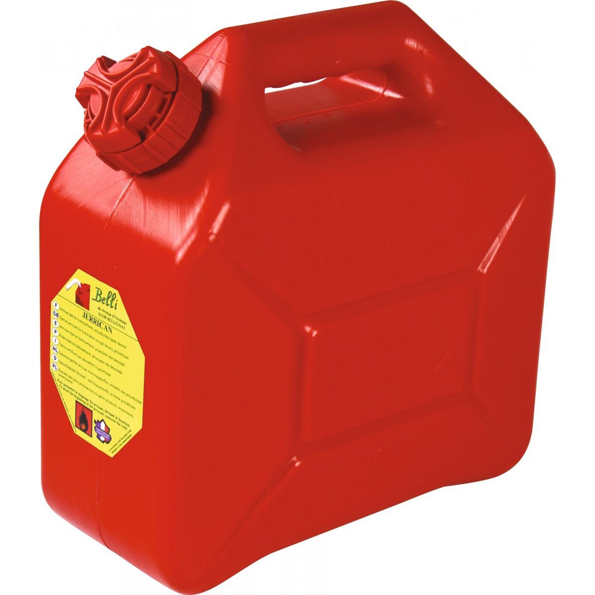 Jerrican hydrocarbure bec verseur Bellijardin - 10 l