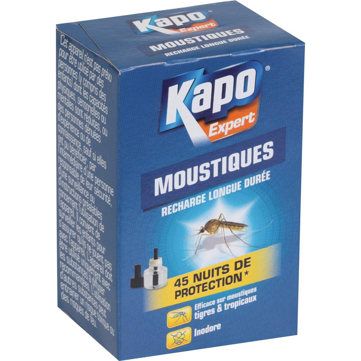 Recharge liquide moustiques pour émanateur électrique Kapo Expert - 30 ml