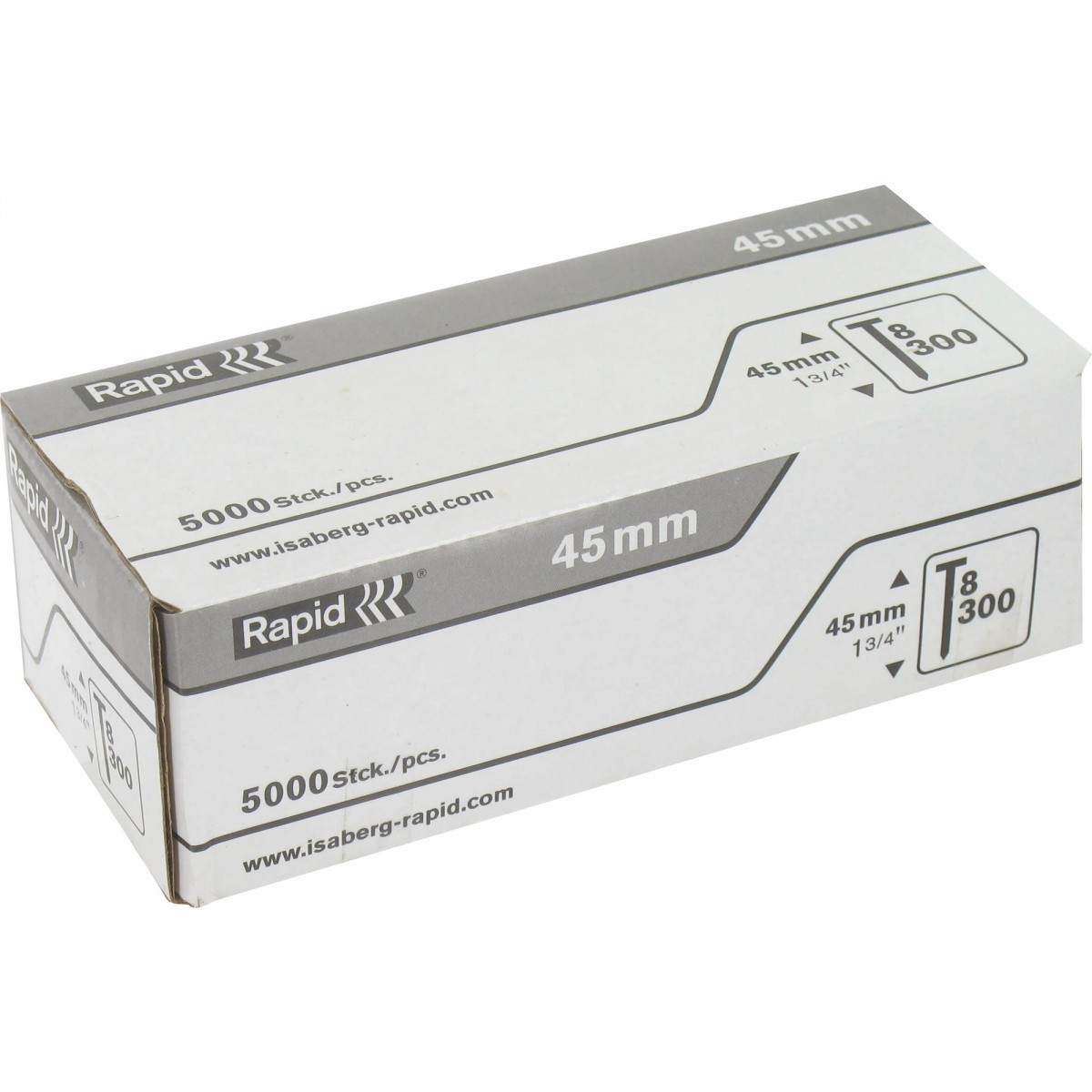 Pointe n°8 Rapid Agraf - Hauteur 45 mm - 5000 pointes