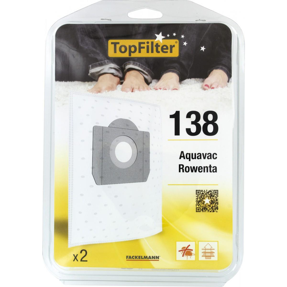 Sac aspirateur industriel - Rowenta - 138 - Vendu par 2