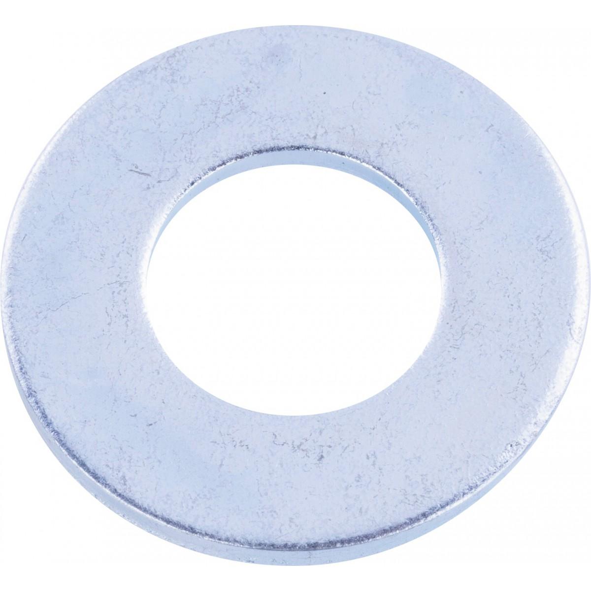 Rondelle plate acier zingué - Ø10mm - 20pces - Fixpro