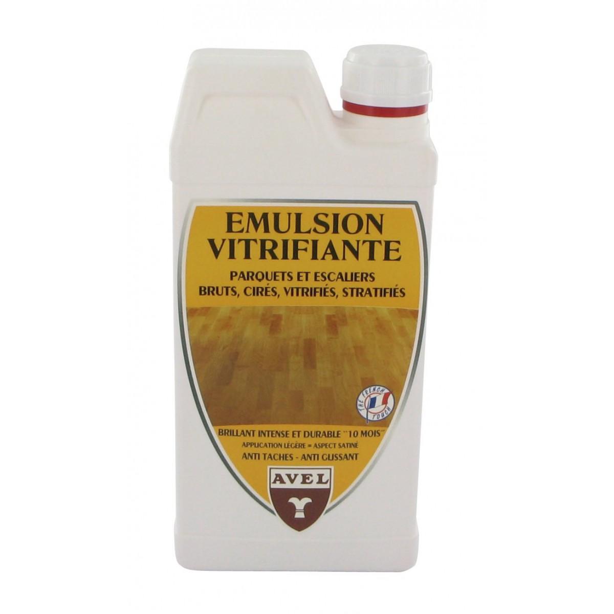 Emulsion vitrifiante parquet Avel - Bidon 1 l