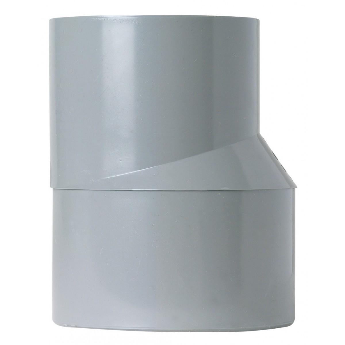 Réduction extérieure excentrée Mâle / Femelle Girpi - Diamètre 50 - 40 mm