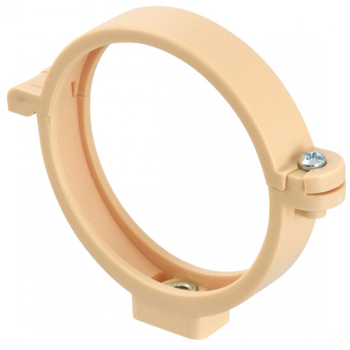 Collier à bride de descente Girpi - Diamètre 100 mm - Gris
