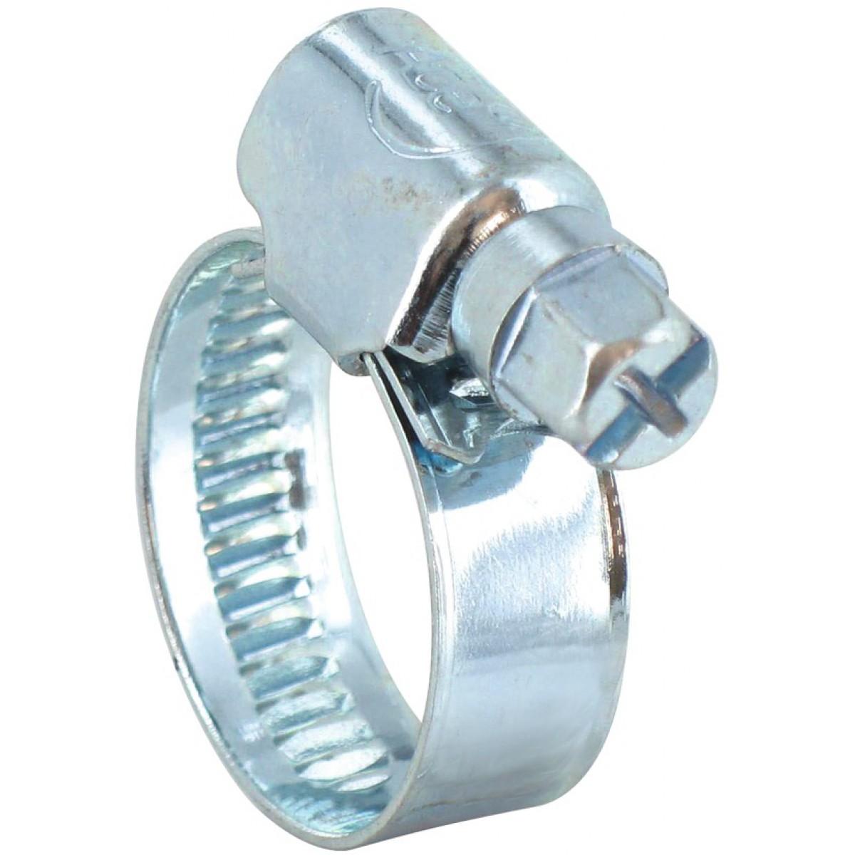 Collier à bande Cap Vert - Diamètre 10 - 16 mm - Largeur 8 mm - Vendu par 2