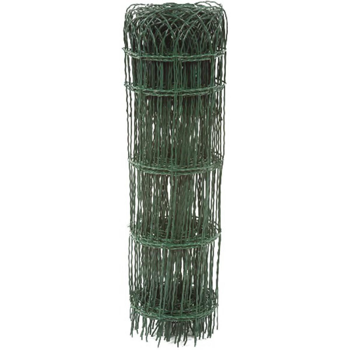 Bordure parisienne grillage plastifié vert Filiac - Hauteur 0,9 m - Longueur 10 m