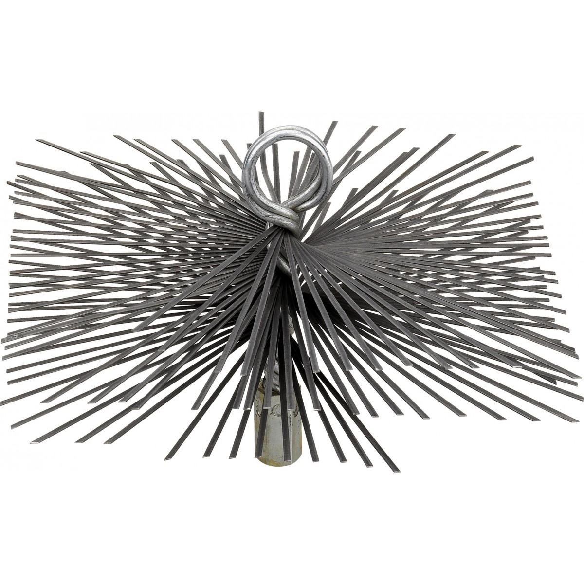Hérisson carré acier plat SCID - Dimensions 200 x 200 mm