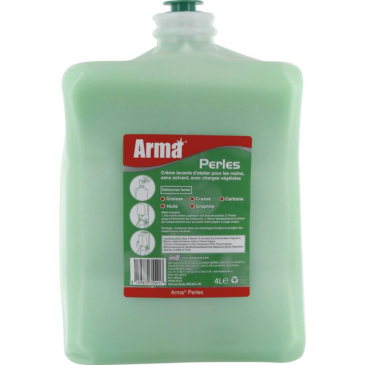 Savon perles recharge Arma - Pour appareil 85400 - 4 l