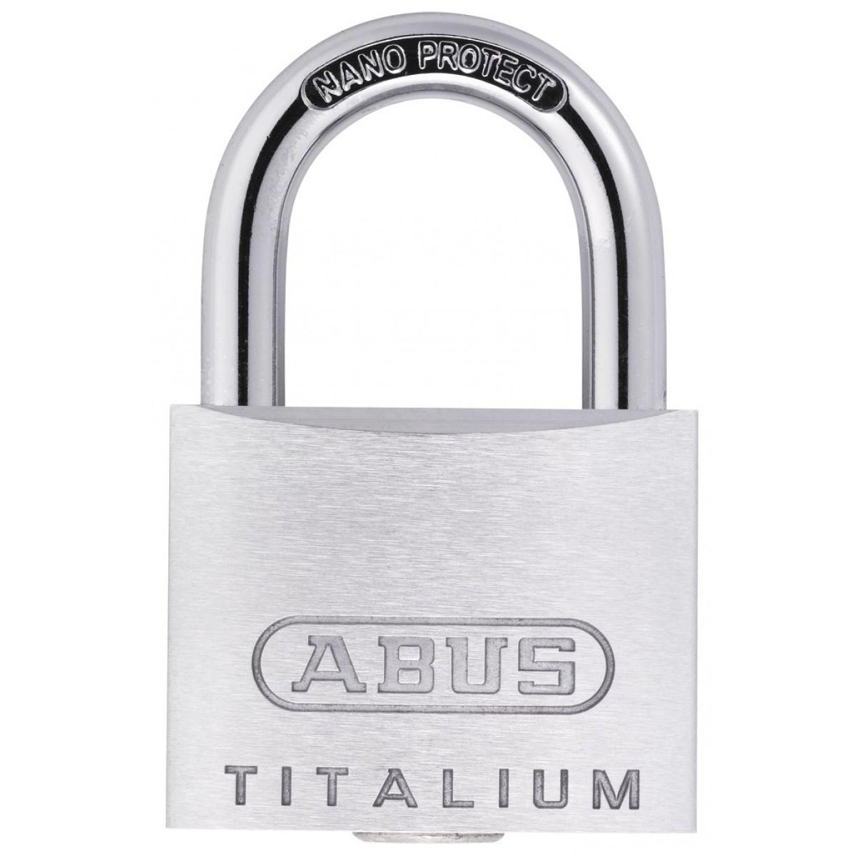 Cadenas aluminium Titalium™ serie 64 TI Abus - Longueur 60 mm