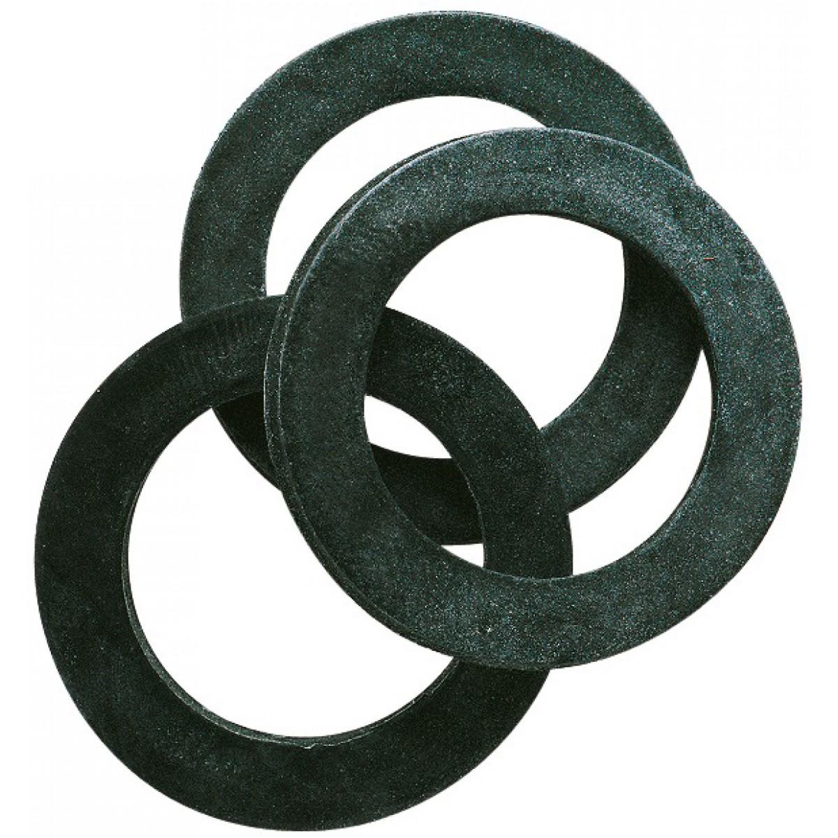 Joint caoutchouc EPDM - Filetage 24 x 31 mm - Vendu par 7