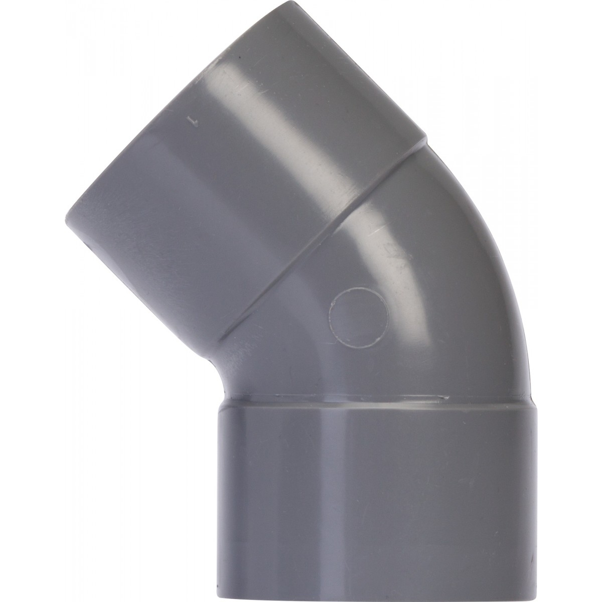 Coude à 45° Femelle / Femelle Girpi - Diamètre 32 mm