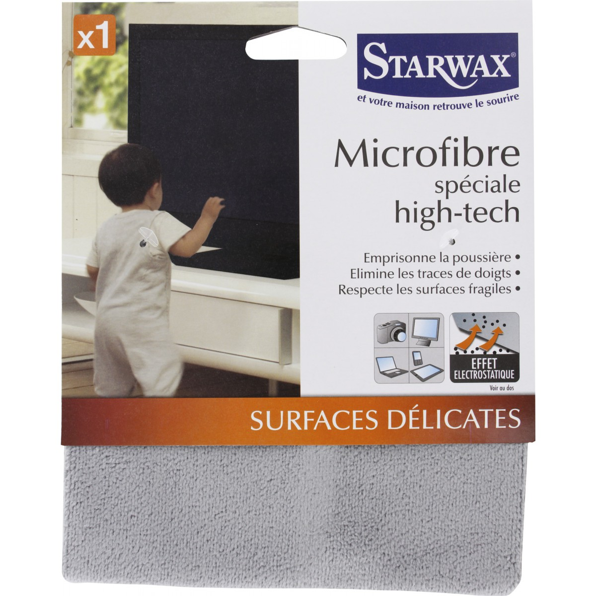 Microfibre spécial high-tech Starwax
