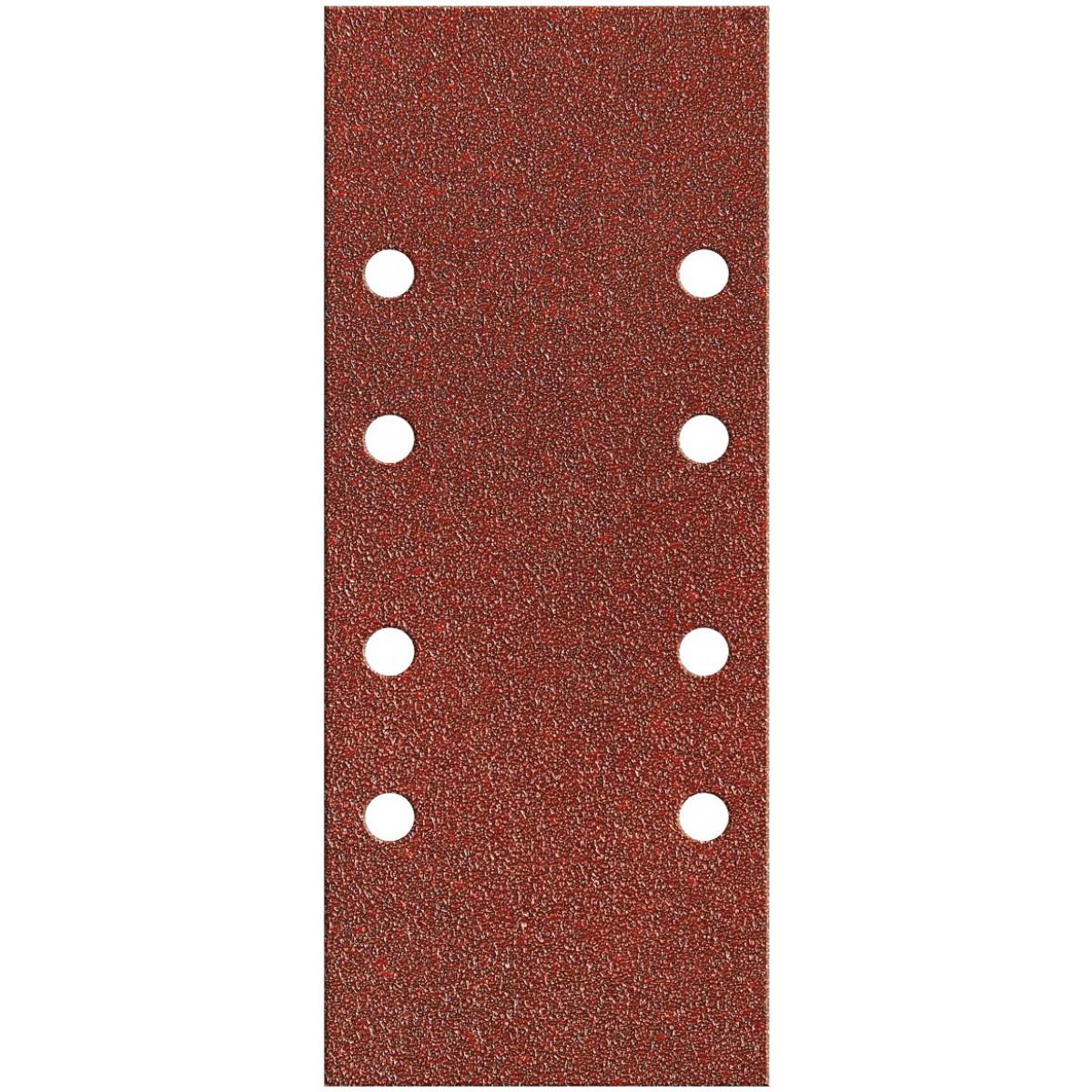 Patin fixation avec pince SCID - 8 trous parallèles - Grain 80 - Dimensions 93 x 230 mm - Vendu par 8
