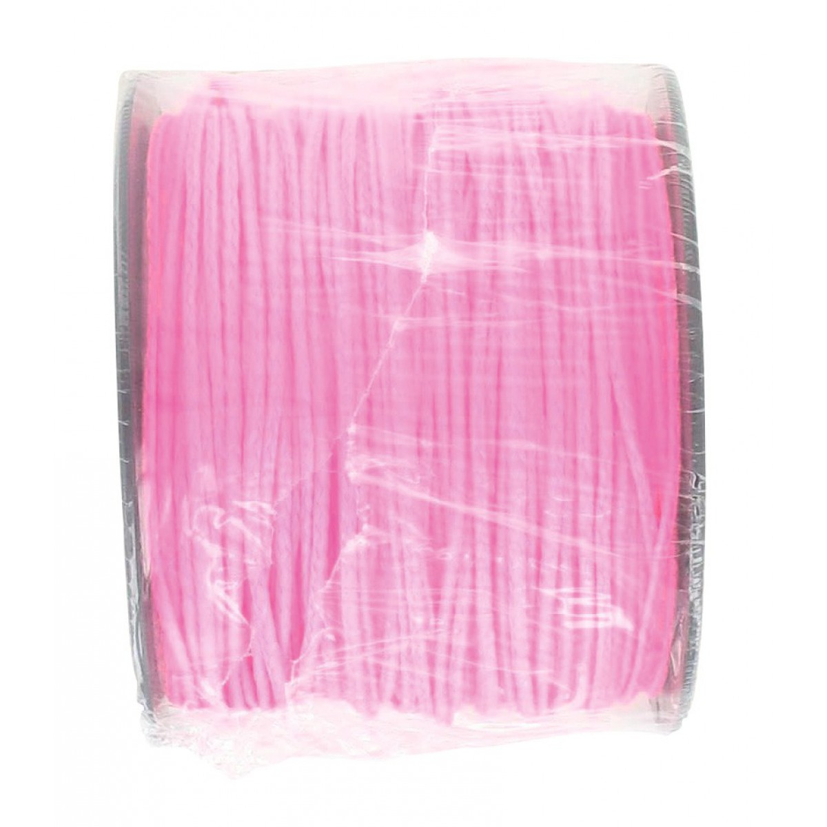 Bobine de tresse polypro rose fluo Outibat - Longueur 100 m - Diamètre 1,5 mm