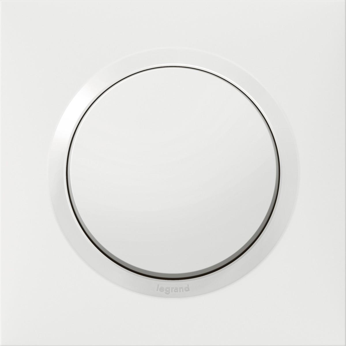 Interrupteur ou Va et vient Dooxie Legrand - Blanc