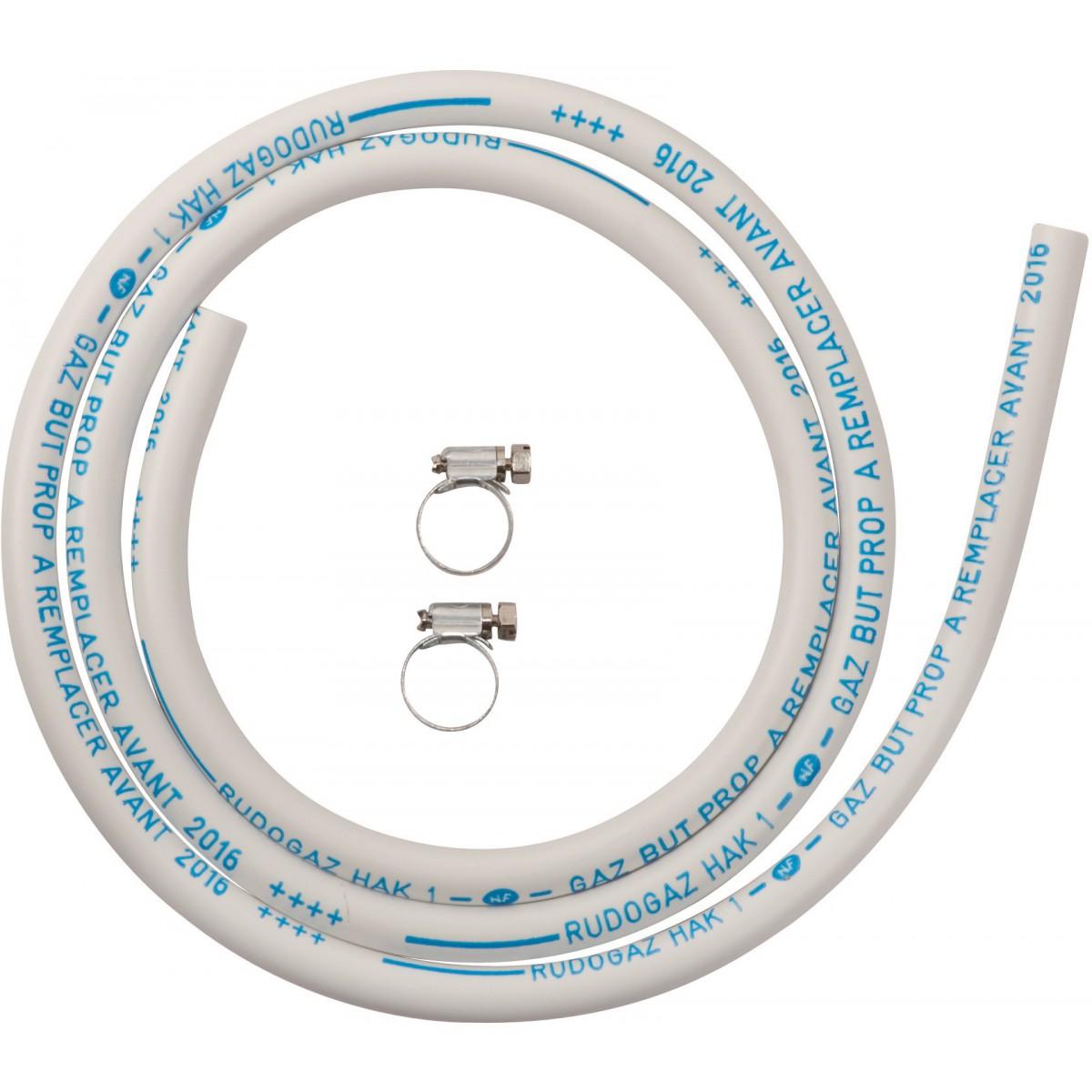 Tube gaz butane / propane Eurogaz - Longueur 1 m