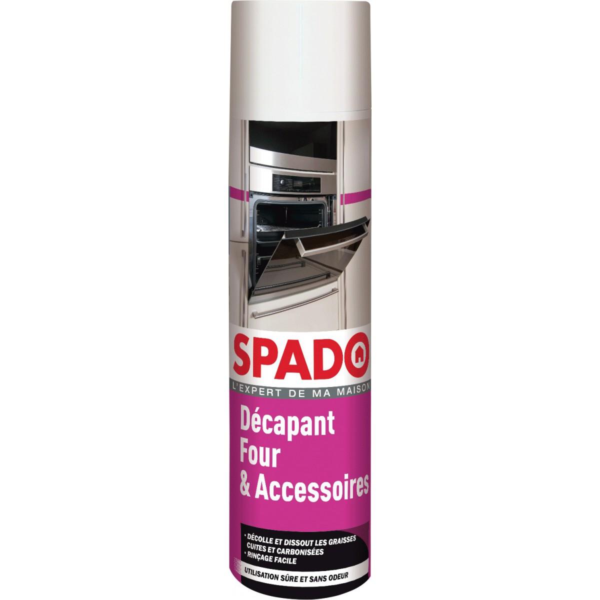 Décapant four sans soude caustique Spado - Aérosol 600 ml