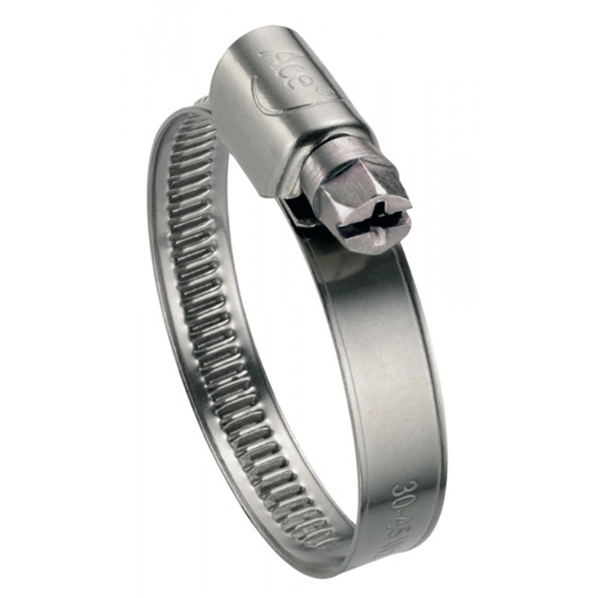 Collier bande non perforée W2 Ace - Largeur 9 mm - Diamètre 8 - 12 mm - Vendu par 50