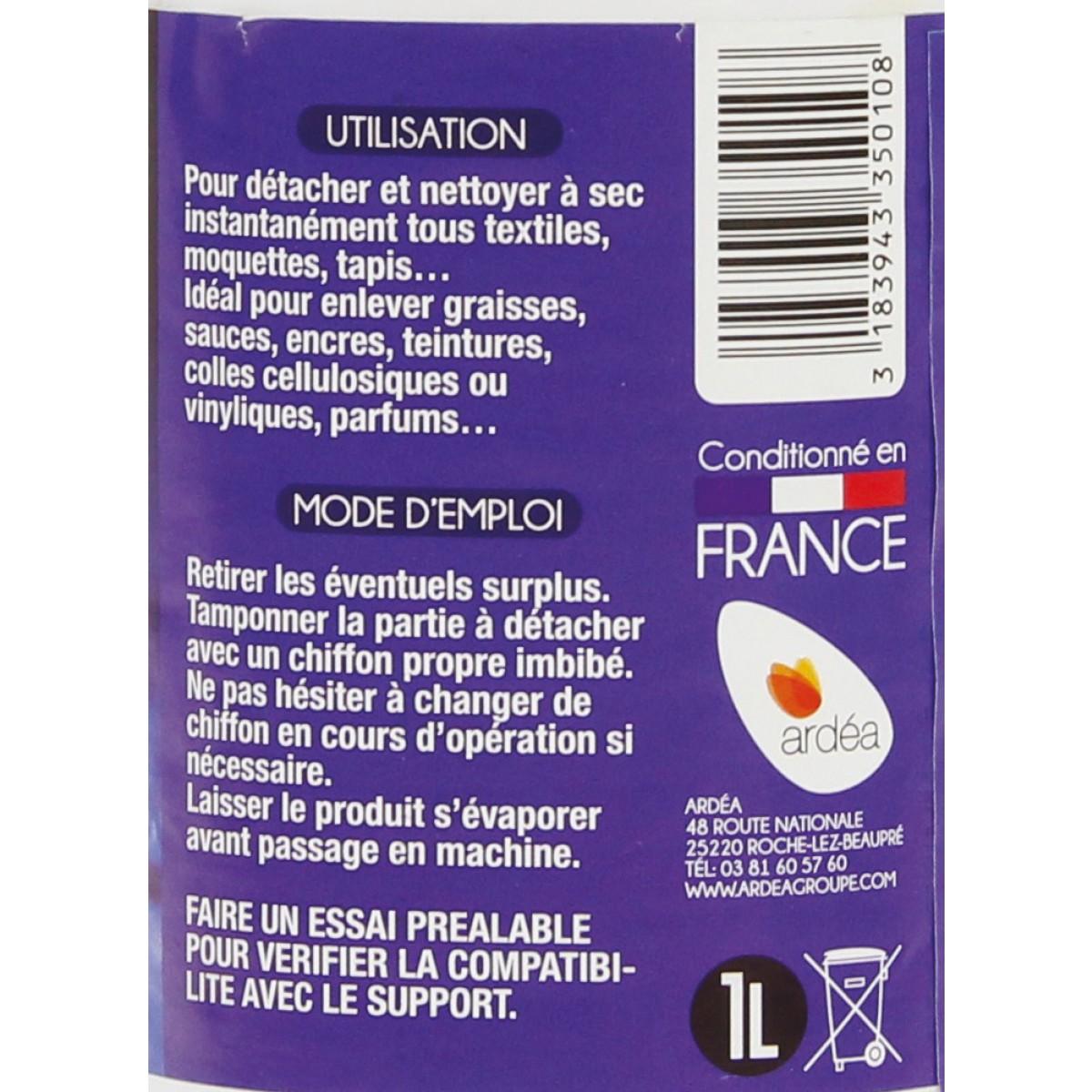 Détachant tissu a sec Onyx - Bouteille 1 l