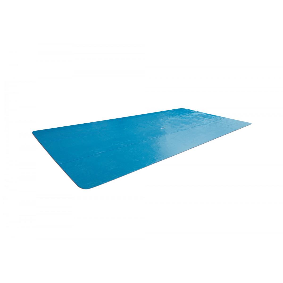 Bâche à bulles Intex -  Pour piscine rectangulaire 4,88 x 2,44 m