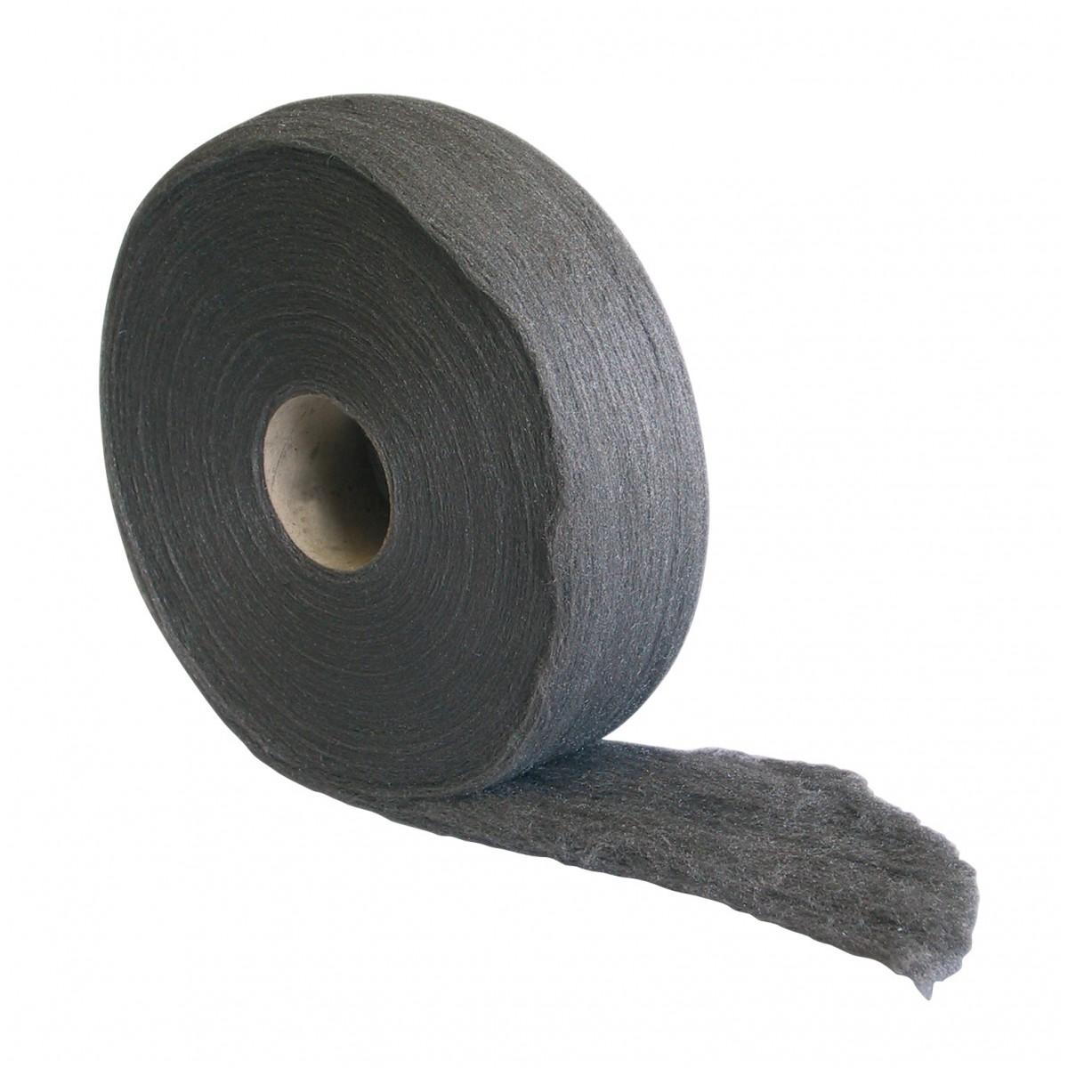 Laine d'acier en rouleau Gerlon - 1 kg - n°00