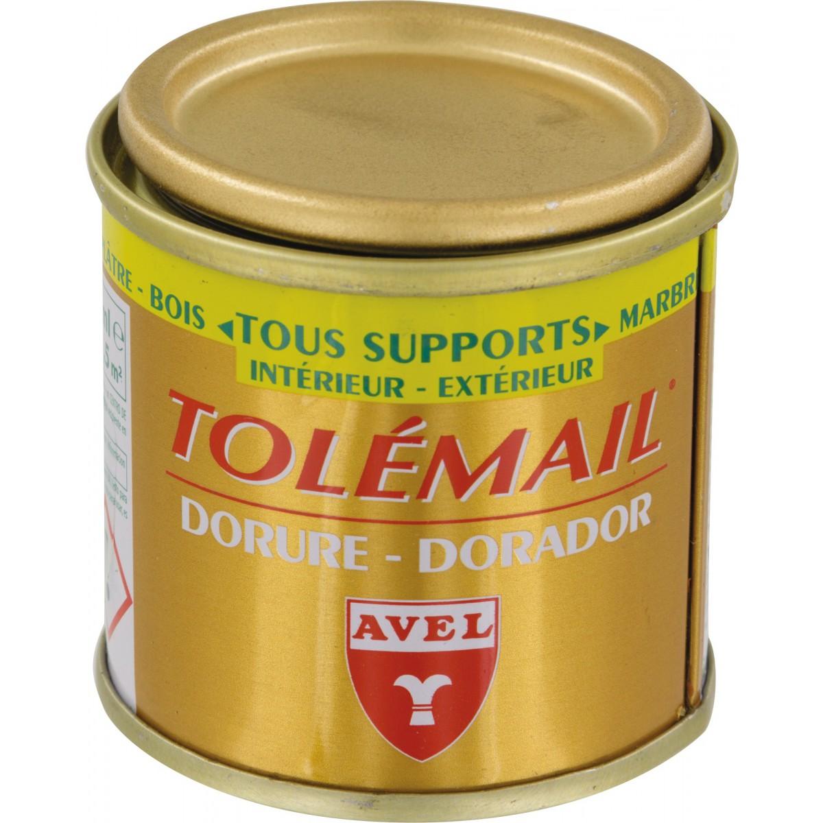 Peinture Tolémail dorure Avel Louis XIII - 50 ml - Or riche