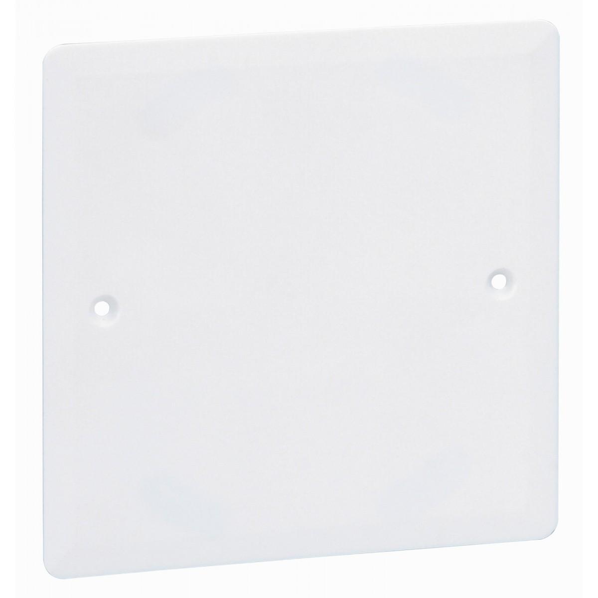 Couvercle pour boîte Batibox Legrand - Boîte cloison sèche - Dimensions 100 x 100 mm