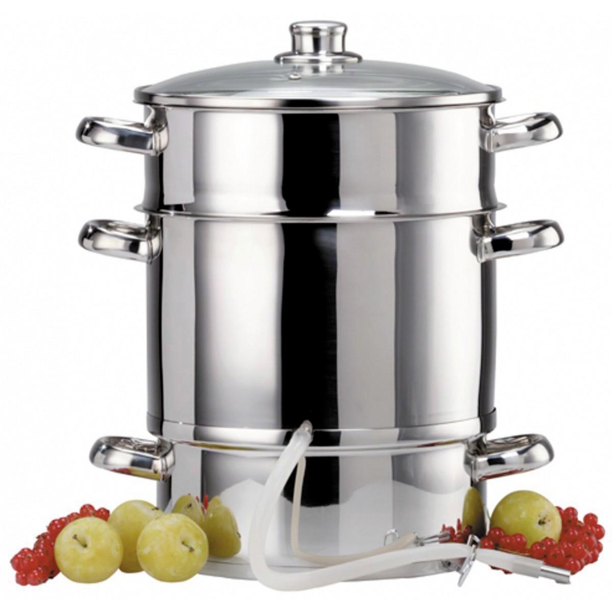Extracteur à jus de fruits ou légumes à vapeur Baumalu - Diamètre 260 mm