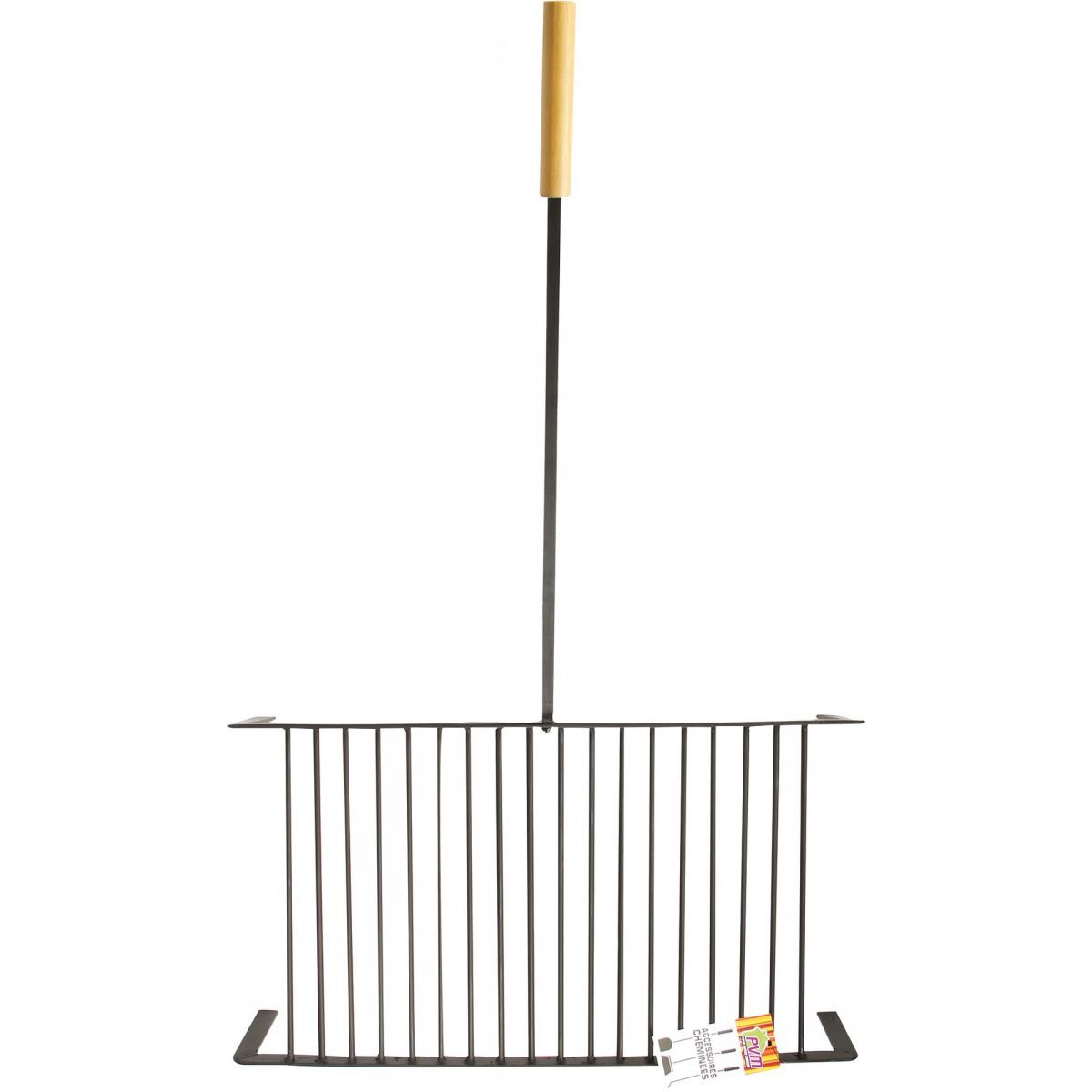 Grille acier forgé PVM - Longueur grille seule 25 cm - Largeur 28 cm