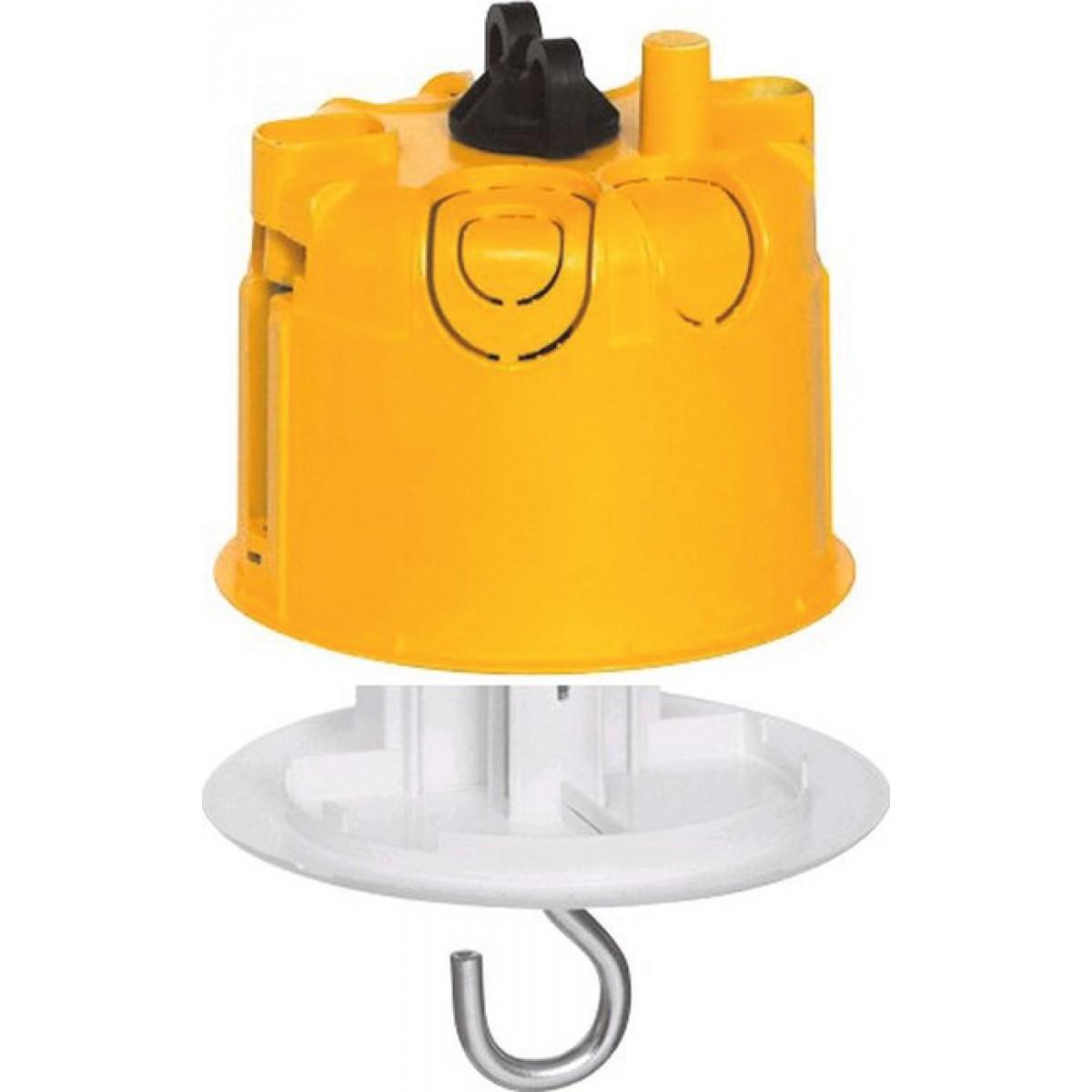 Boîte à encastrer pour luminaire Batibox Legrand - Boîte cloison sèche - Boîte + prise pour luminaire