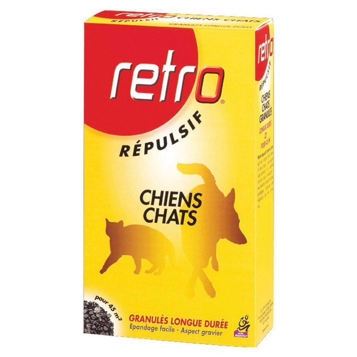 Bruit Griffe Chien Parquet répulsif chien-chat en granulés retro - etui 400 g