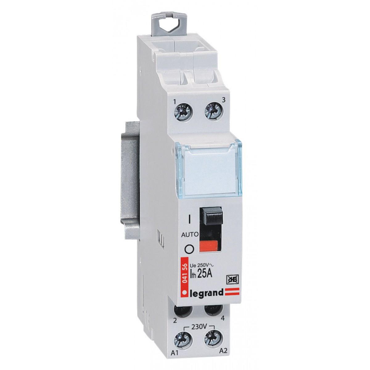 Contacteur tarif heures creuses Legrand - Bipolaire 230 V