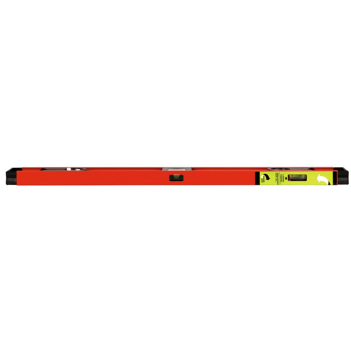 """Niveau tubulaire profil """"i"""" Outibat - Longueur 80 cm"""
