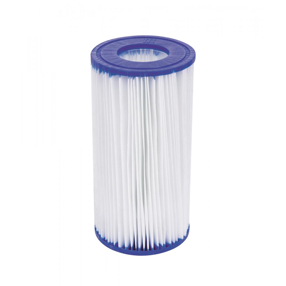 Cartouche de filtration piscine Type (III) Bestway - Diamètre 10,6 cm - Hauteur 20,3 cm