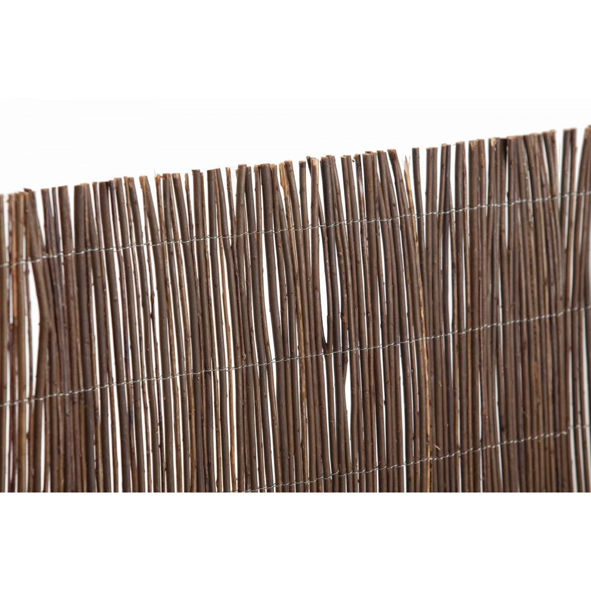 Canisse naturelle en osier Catral - Longueur 3 m - Hauteur 1,5 m