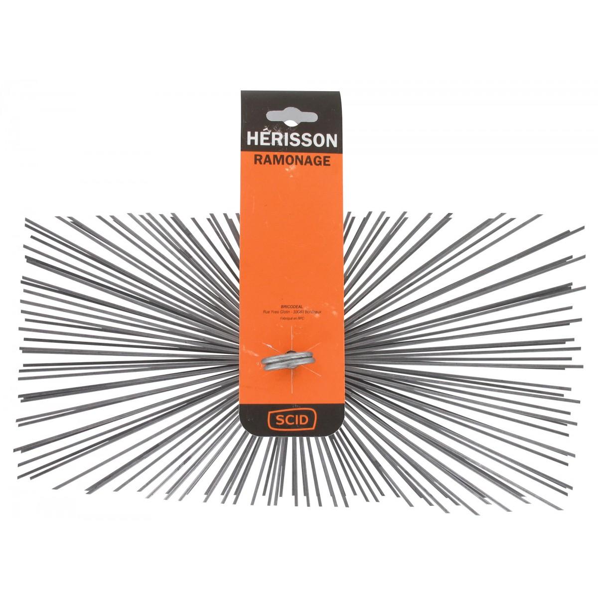 Hérisson rectangulaire acier plat SCID - Dimensions 200 x 400 mm