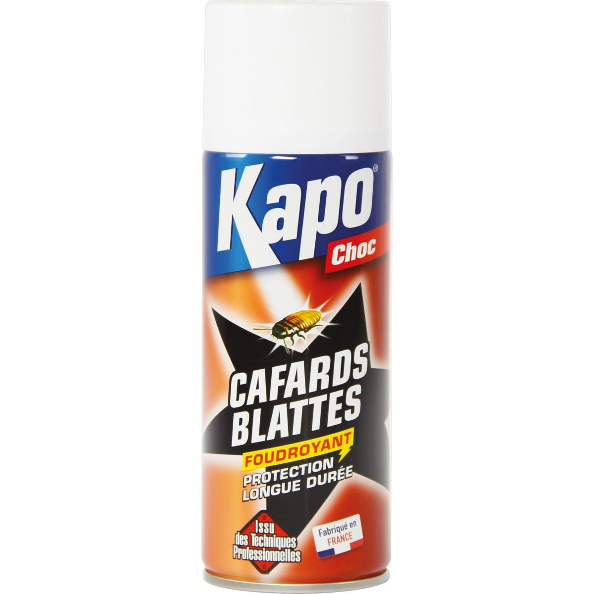 cafards et blattes kapo choc a rosol 400 ml de insecticide cafards et blattes. Black Bedroom Furniture Sets. Home Design Ideas