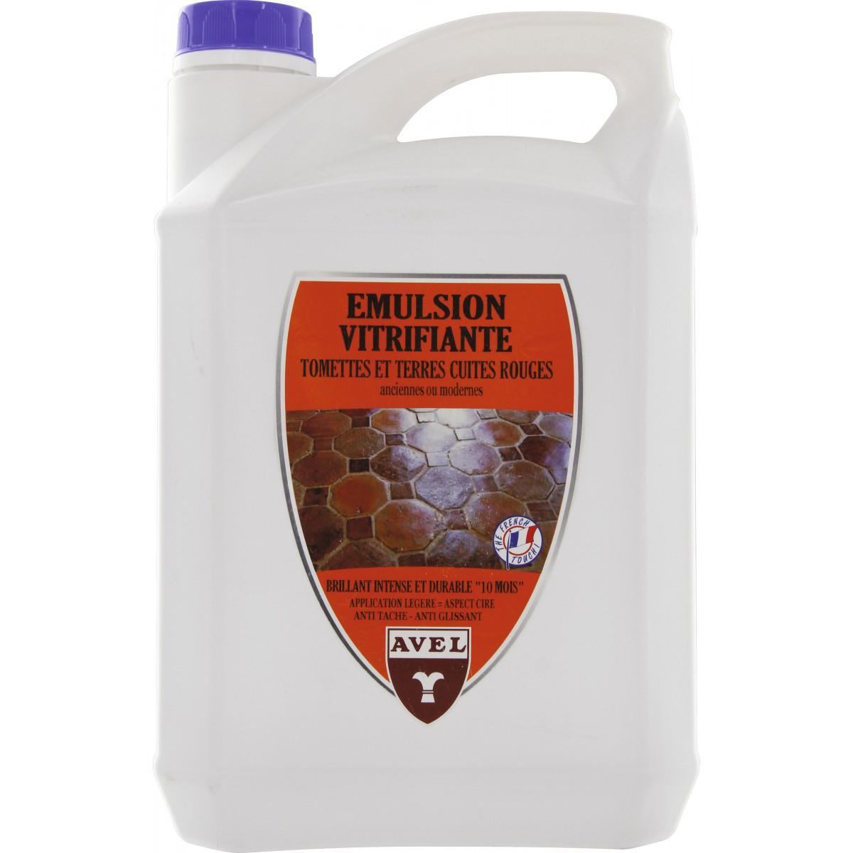 Emulsion vitrifiante tomette Avel - Bidon 5 l
