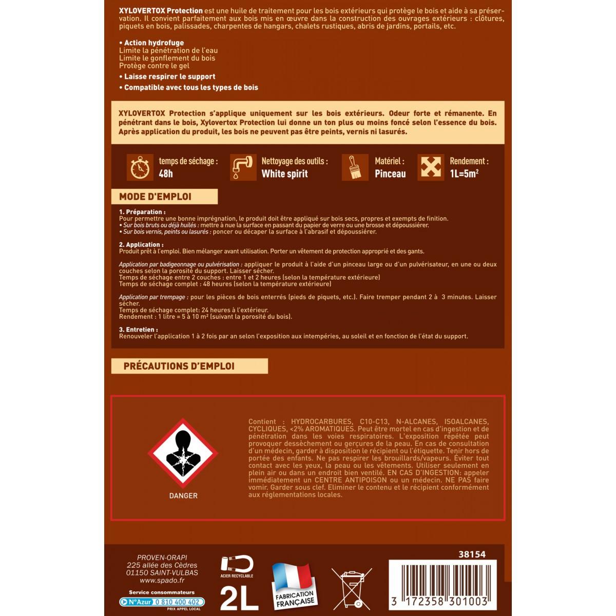 Xylovertox Spado - Bidon 2 l