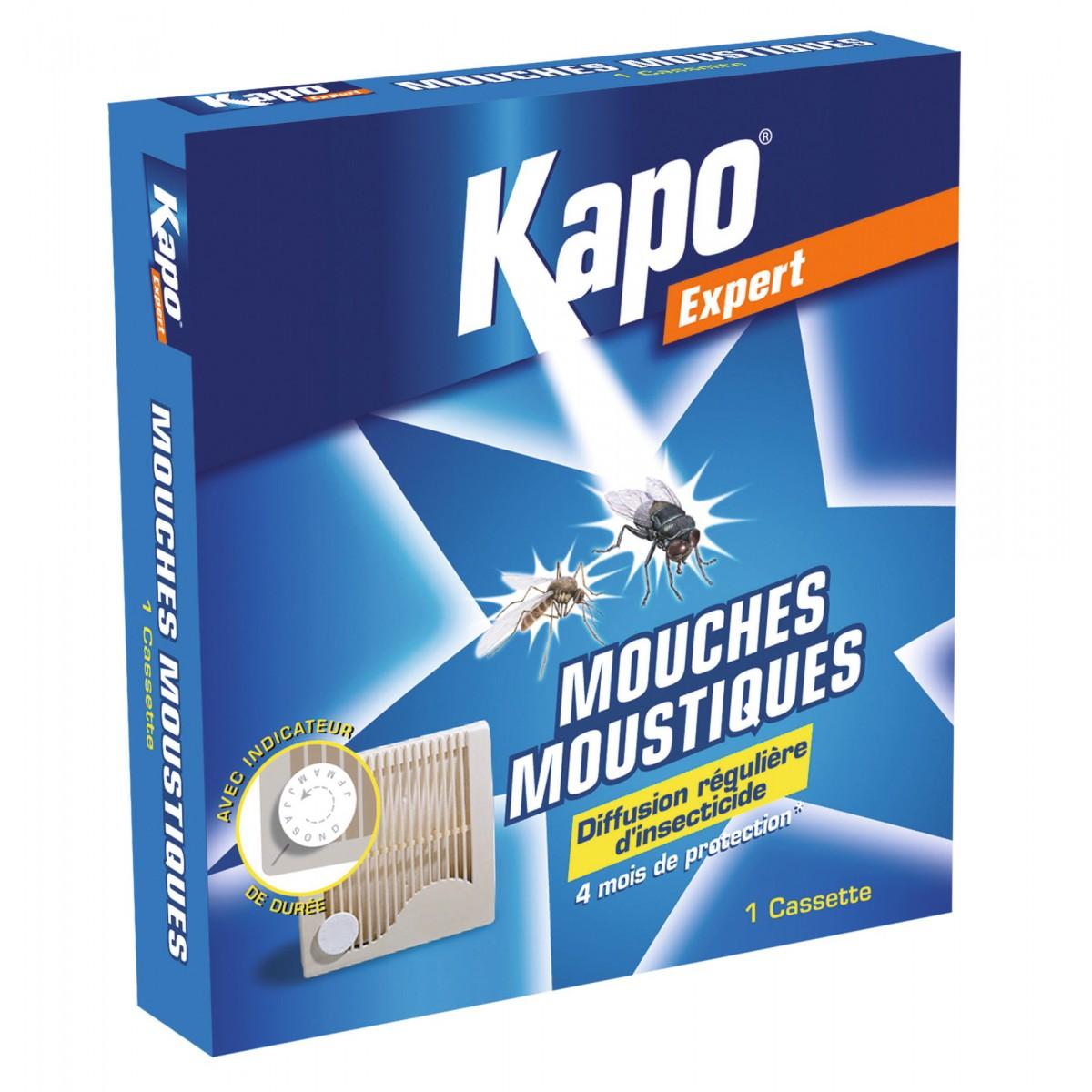 Moustiques cassette Kapo Expert