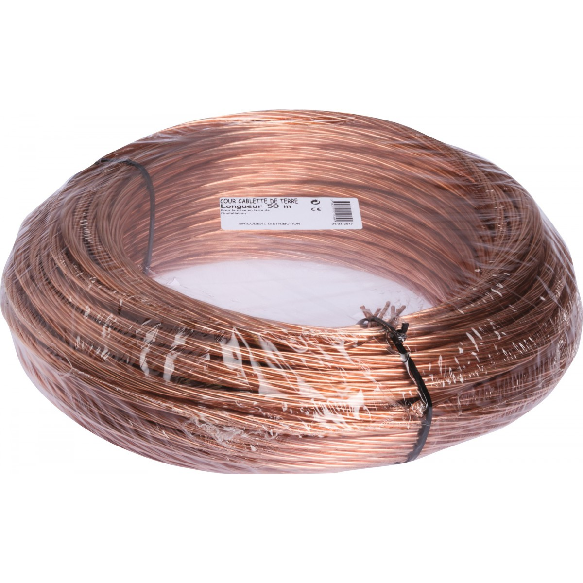 Câble terre - Couronne 50 m