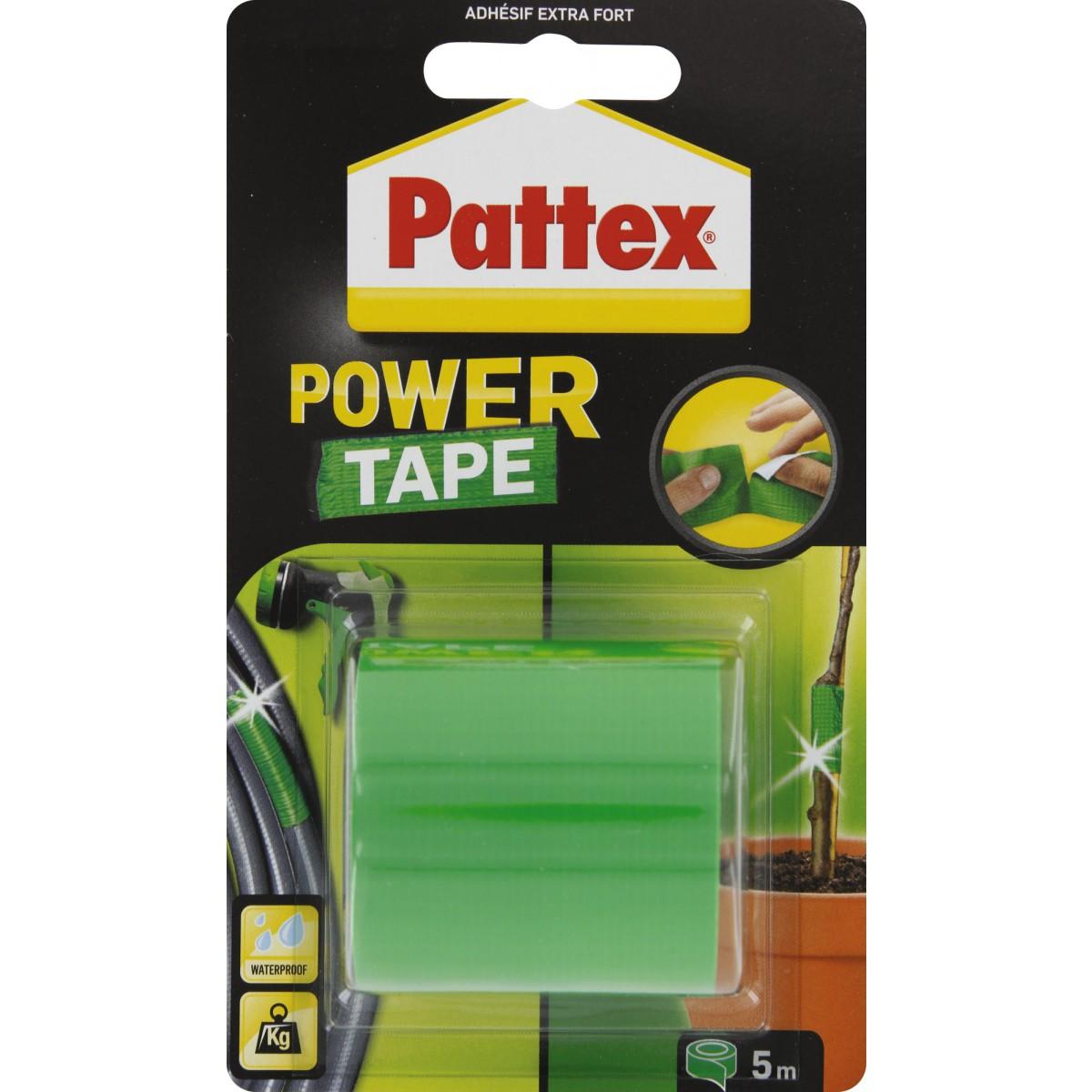 Adhésif super puissant Power tape Power Tape - Vert - Longueur 5 m