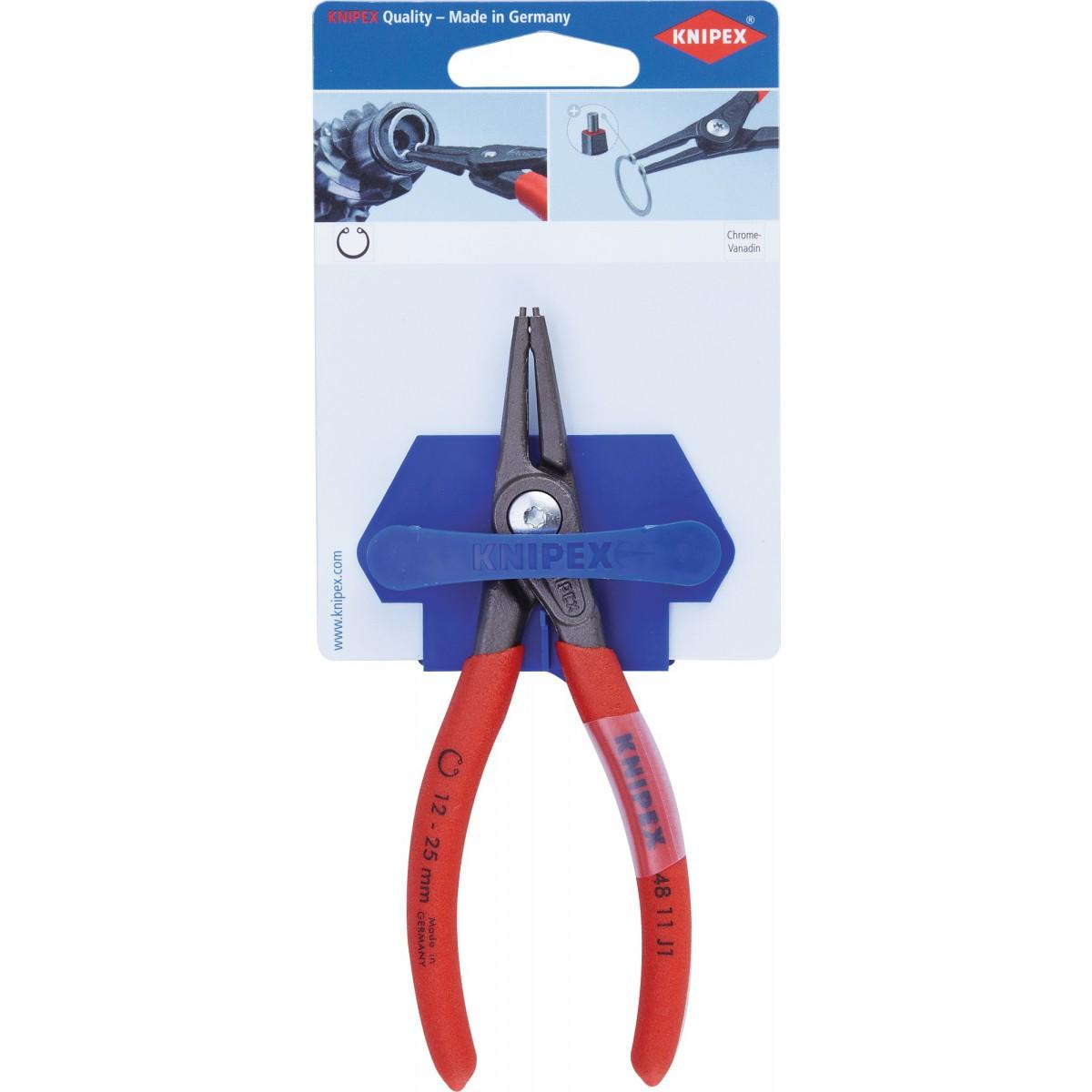 Pince de précision pour circlips - Capacité diamètre 12-25 mm -  Knipex