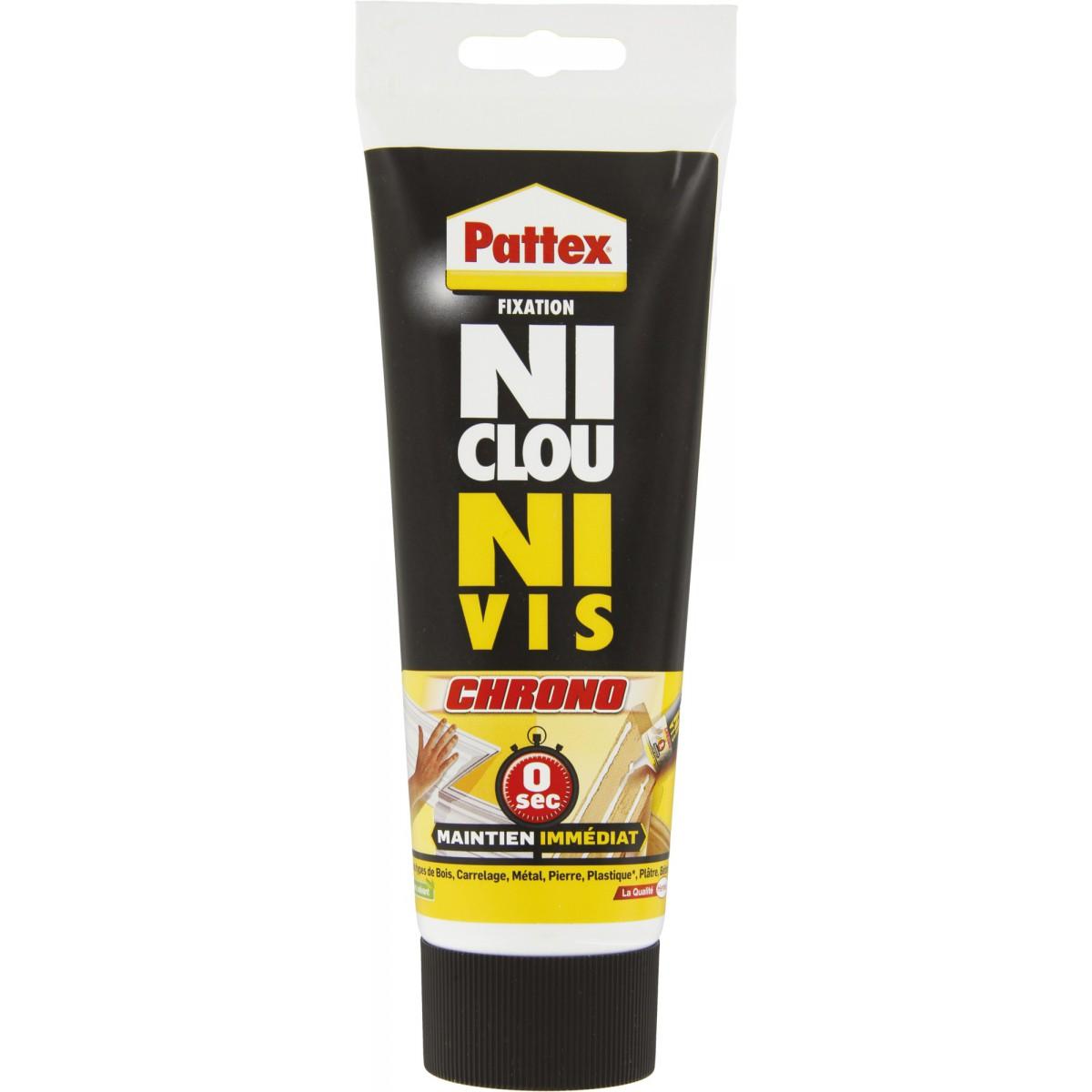 Mastic fixation surpuissant Pattex - Intérieur - Tube 260 g