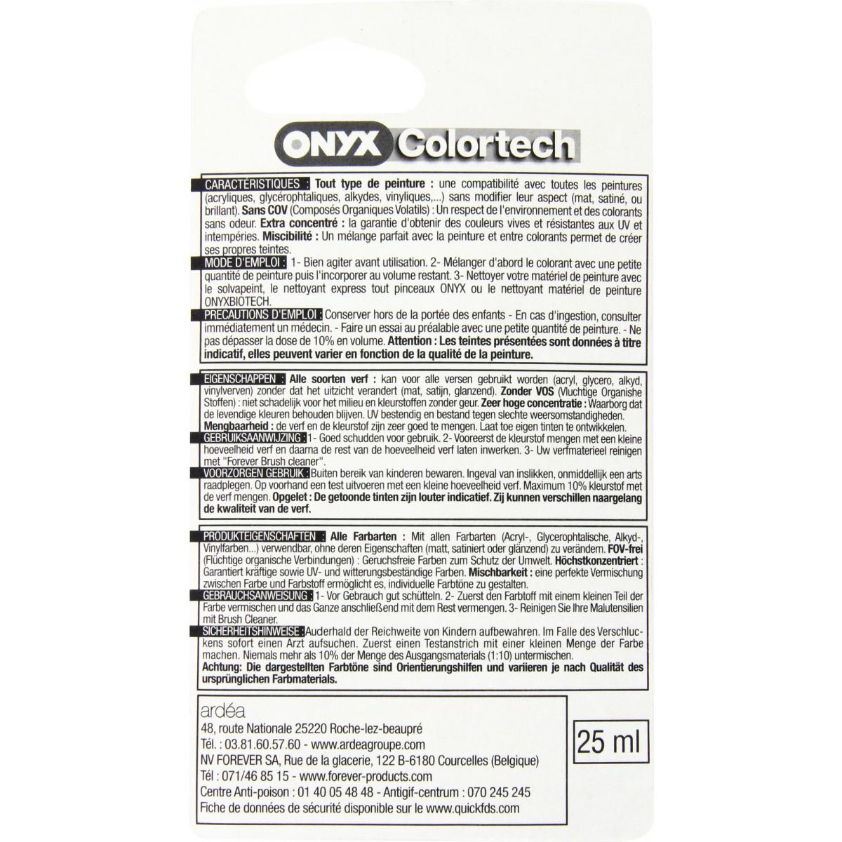 Colorant universel 25 ml Onyx - Noir